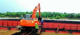 Unloading Coal at ISP