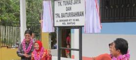 Formal ceremony of TK Tunas Jaya