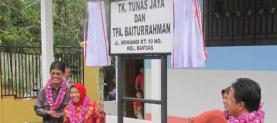 Formal ceremony of TK Tunas Jaya