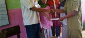 Donation for teacher's salary